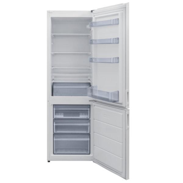Хладилник с фризер Crown GN 3130 , 268 l, F , Бял , Статична